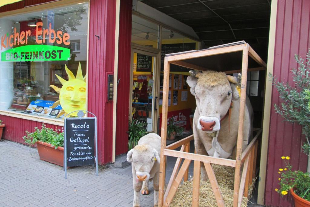 Außenansicht des KicherErbse-Ladens