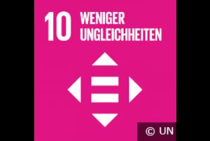 SDG 10 - weniger Ungleichheiten